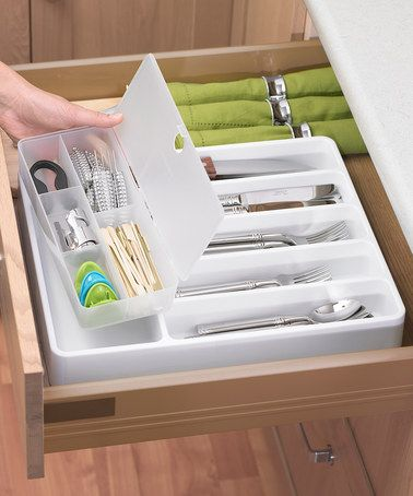 Take A Look At This Cutlery Organizer By Progressive On Zulily Today Kitchen Organization Pantry Kitchen Organization Organization