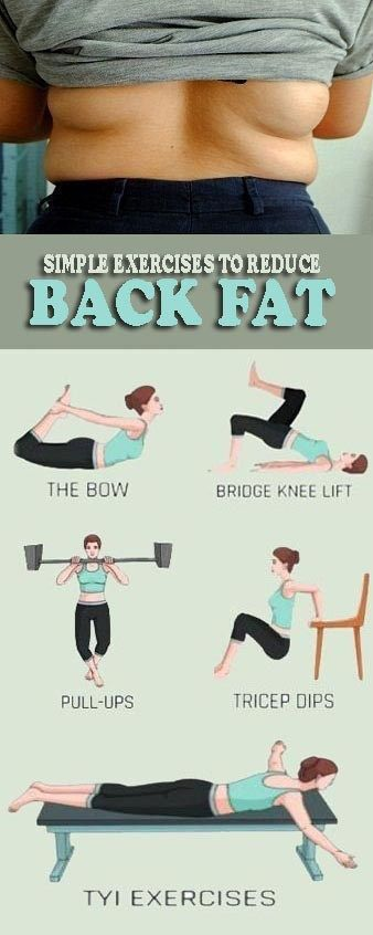 9 Simple Exercises to Get Rid of Back Fat - Info Health Tips