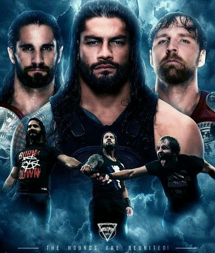 The hound of justice seth rollins roman reigns dean - Download pictures of the shield wwe ...