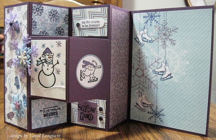 Our Little Inspirations: A Tri-Fold Shutter Card In Non