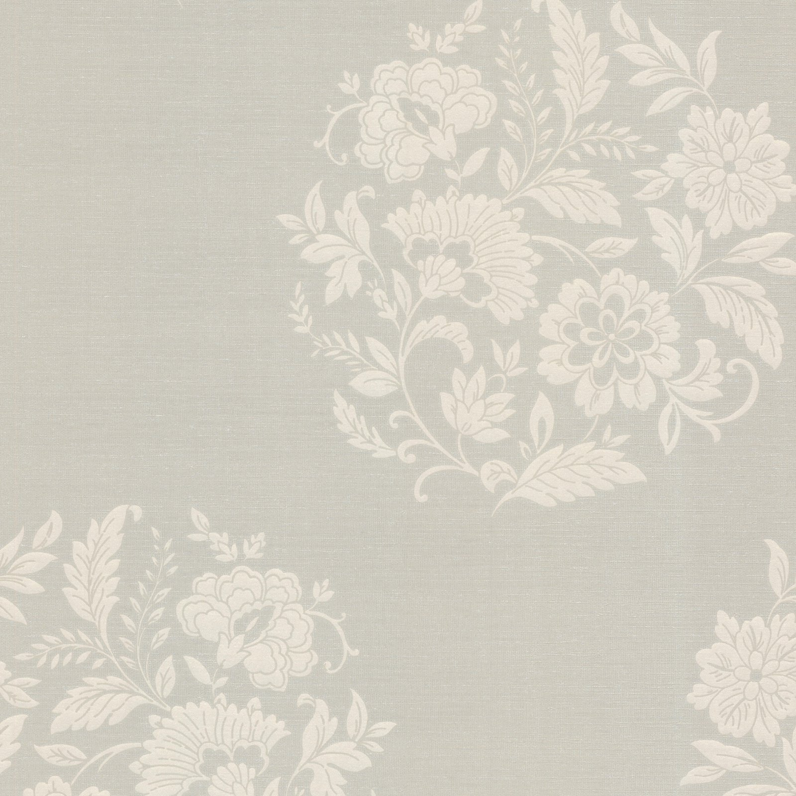 Floral Pattern Fabric Accent Wall: Decorline Velde Floral Motif Wallpaper Taupe In 2019