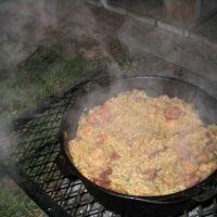 Pork Smoked Sausage Tasso Andouille Jambalaya Recipe
