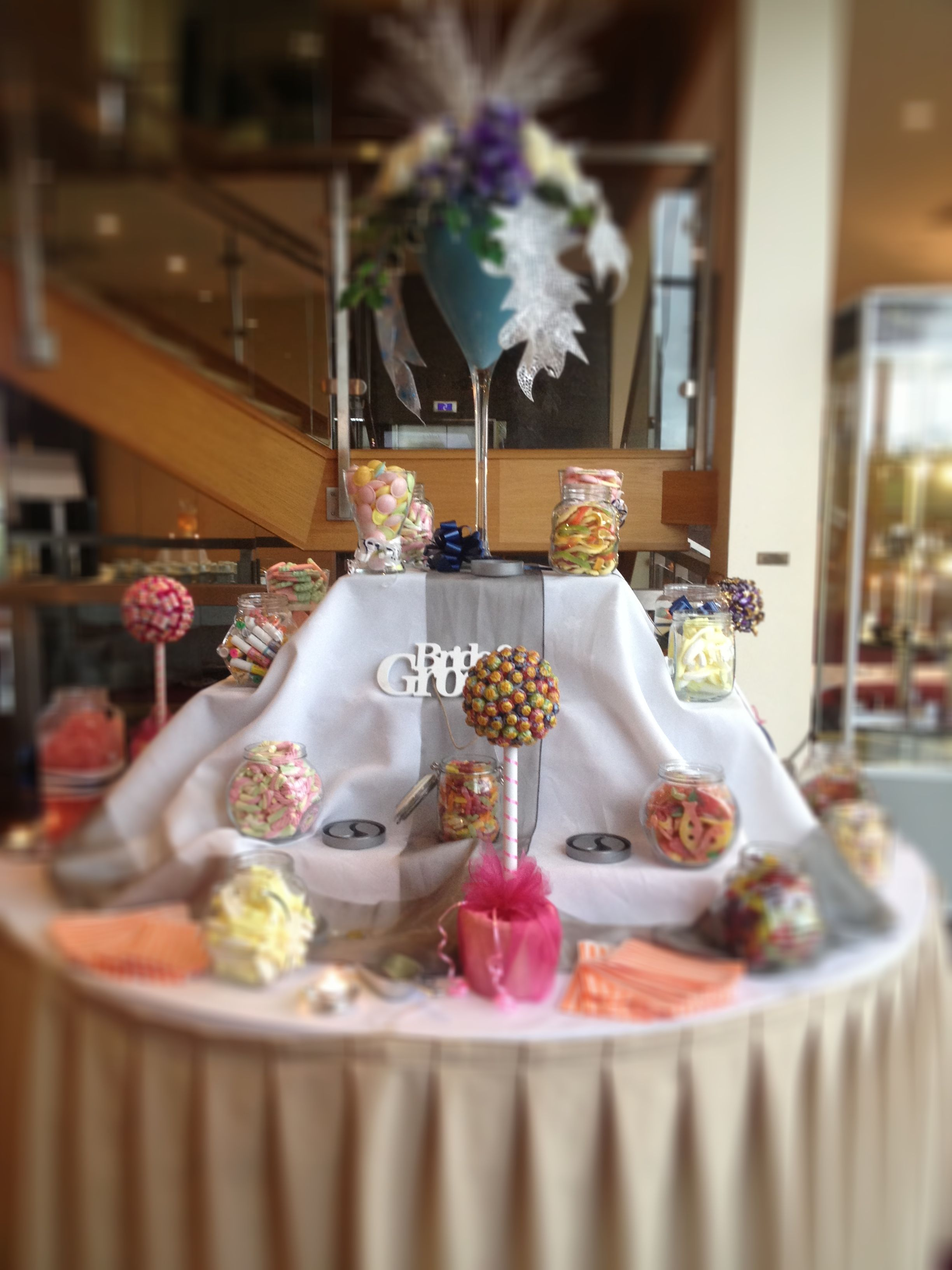 Candy Buffet Wedding Arrival Talbot Hotel Carlow Mojito