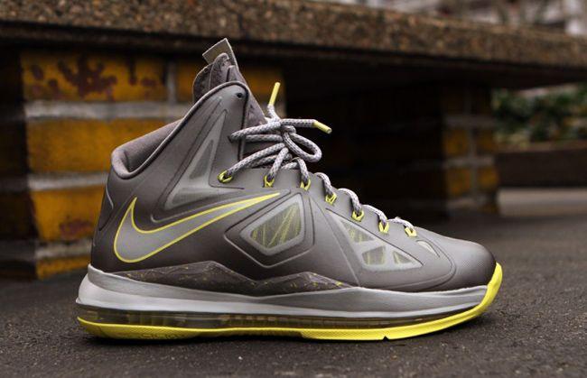 online store 382a8 69fd7 Releasing  Nike LeBron X Canary aka Yellow Diamond