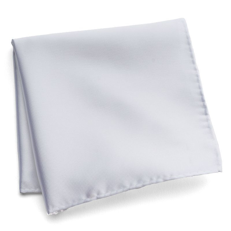Men's Croft & Barrow® Pocket Square, White