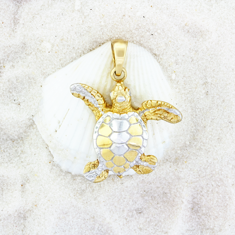 Sterling silver sea turtle pendant by kovel pendants products sterling silver sea turtle pendant by kovel aloadofball Image collections
