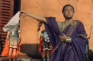 Frank Thring as Pontius Pilate in Ben-Hur 1959. #benhur1959 Frank Thring as Pontius Pilate in Ben-Hur 1959. #benhur1959