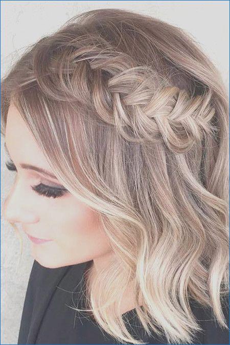 Peinados medianos para el baile de graduación lindo  – Peinados