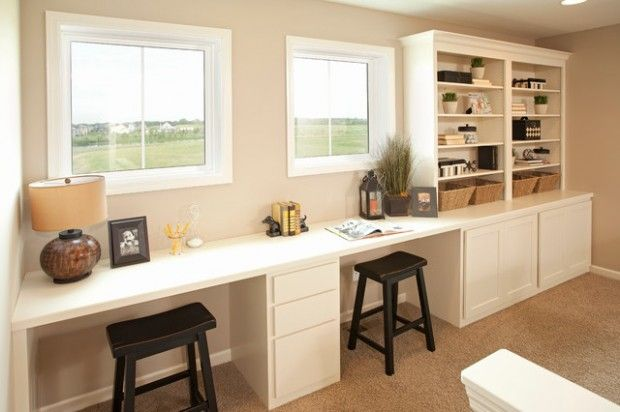 20 functional and cool designs of study rooms study room Study table facing window
