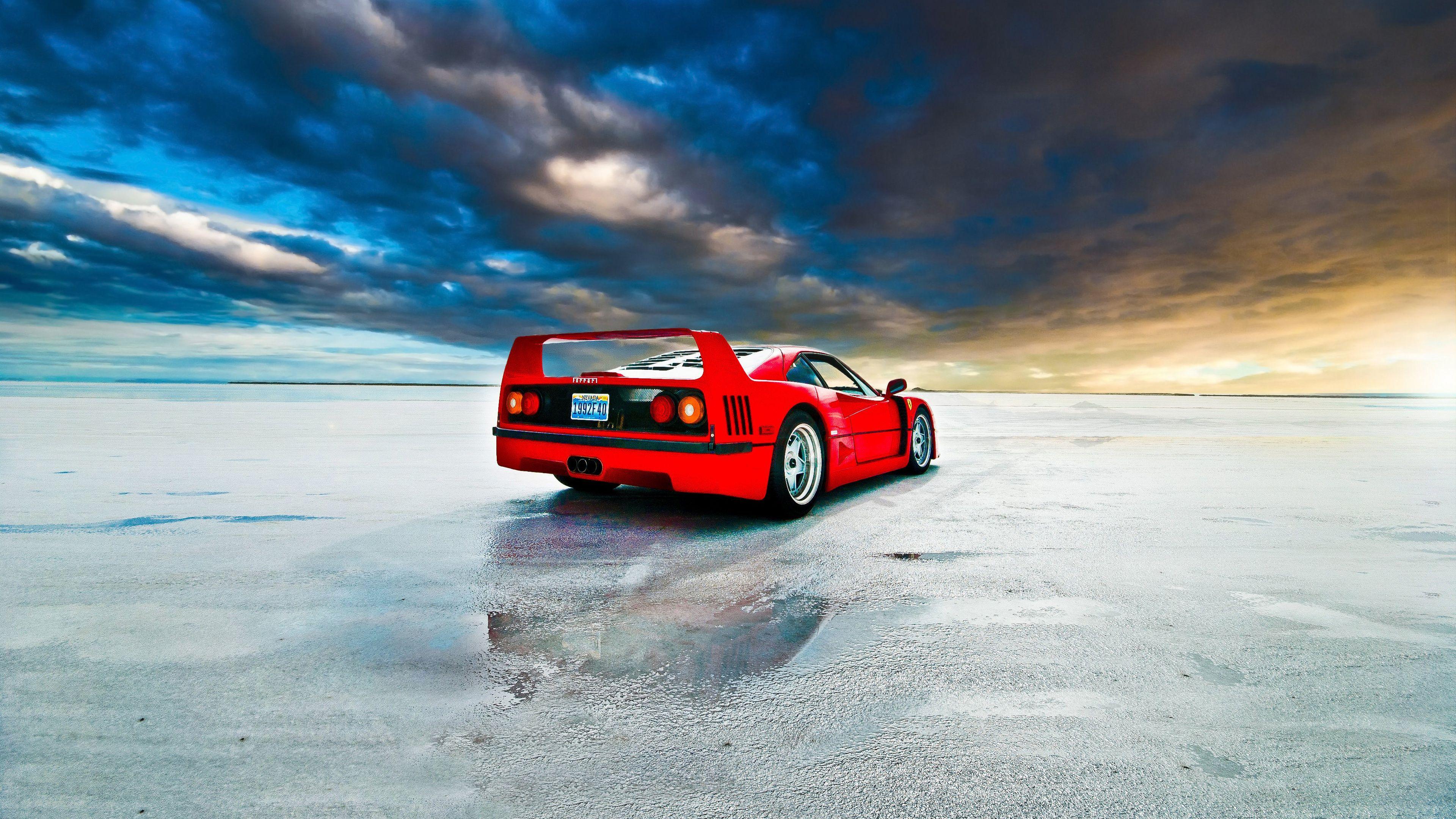 Wallpaper 4k Ferrari F40 4k Wallpapers Cars Wallpapers Ferrari