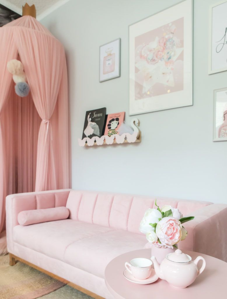 Scarlett\'s Big Girl Room | Big Girl Rooms in 2019 | Big girl ...