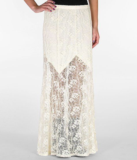 Lily White Lace Maxi Skirt on buckle.com want.need.now | My ...