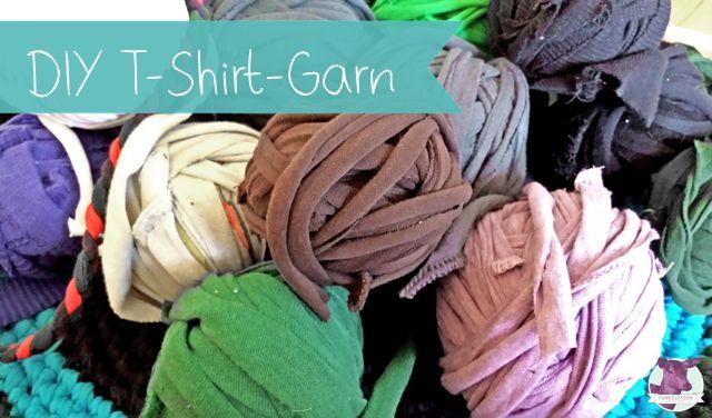 upcycling anleitung t shirt garn selber machen upcycling diy shirt and crochet. Black Bedroom Furniture Sets. Home Design Ideas