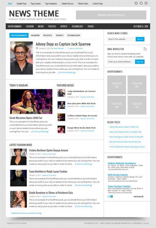 news-2-wordpress-theme