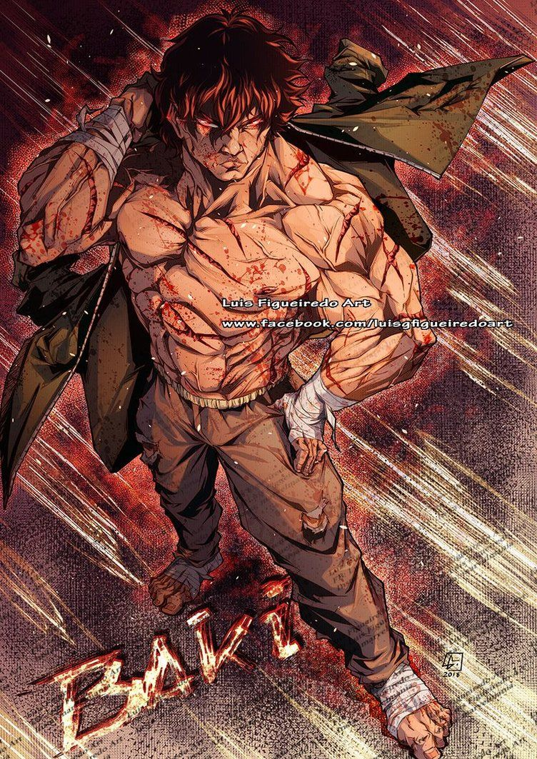 BAKI THE GRAPPLER 2018 by marvelmania | ANIME | Anime art