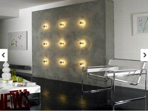 12 Peinture à effet pour les murs de la maison - peinture beton cire mur