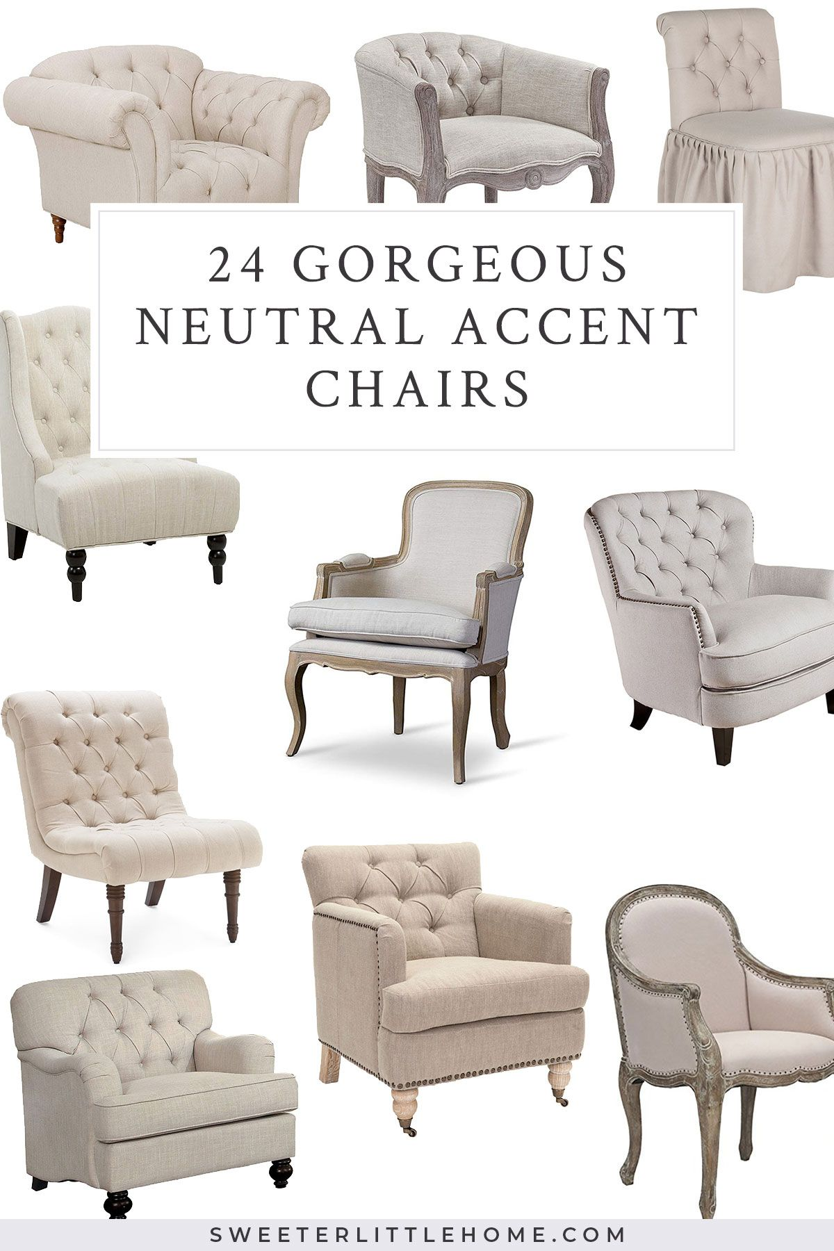 24 Beautiful Farmhouse Cottage Accent Chairs Accent Chairs For