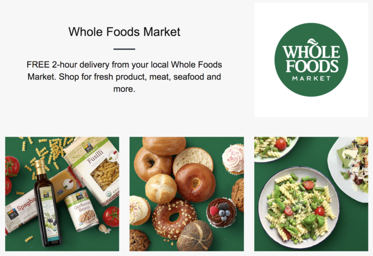 Amazons two hour prime now delivery service now offers whole foods amazons two hour prime now delivery service now offers whole foods groceries in select cities forumfinder Gallery