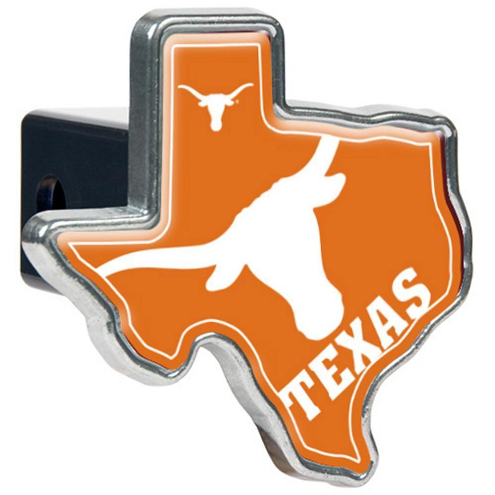 "Trailer Hitch Cover NCAA Texas Longhorns NEW 2/"" recexiver"