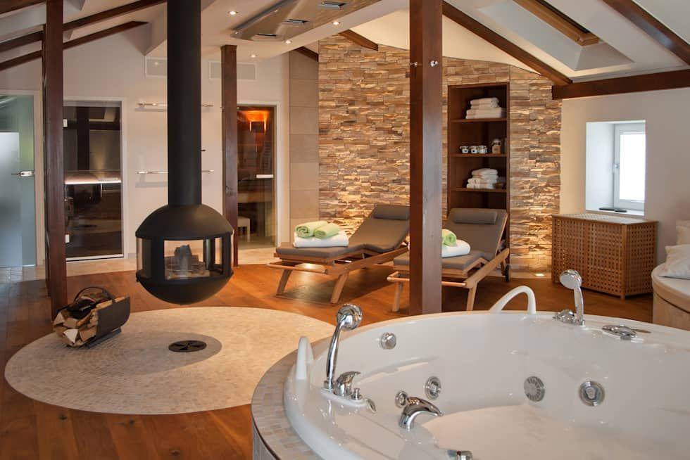Wohnideen, Interior Design, Einrichtungsideen & Bilder | Spa and Saunas