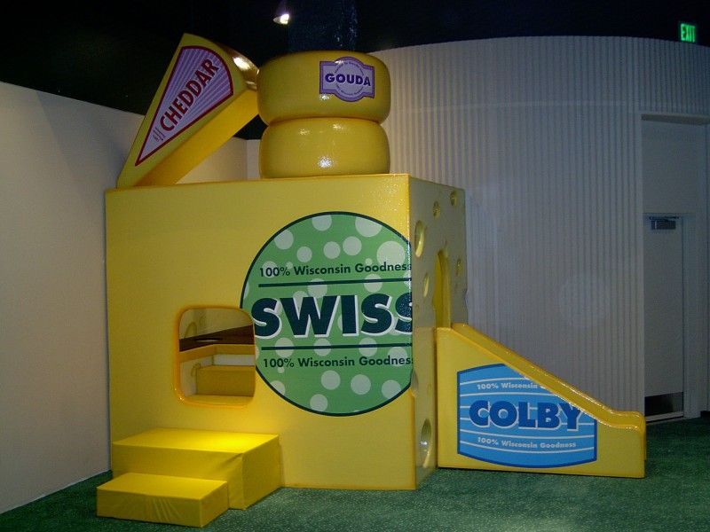 Green Bay Packers Hall of Fame   Cheese Themed Play Area    http://www.atomicplaygrounds.com/products/must-haves/furniture-accessories/#