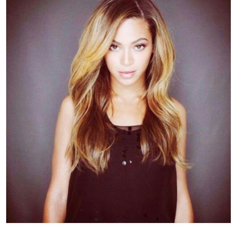 Beyonce Beyonce Hair Blonde Highlights Hair Pinterest