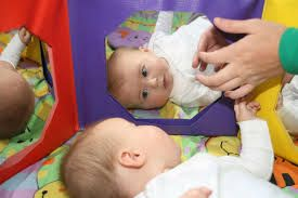 infant learning self awareness