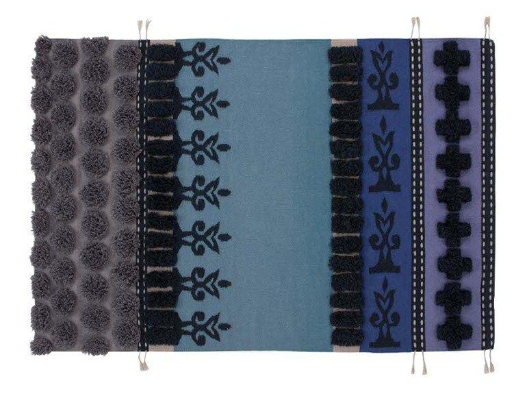 Tapete de lã com listrado TUMBUCTU' Coleção Glaoui by GAN By Gandia Blasco | design Sandra Figuerola