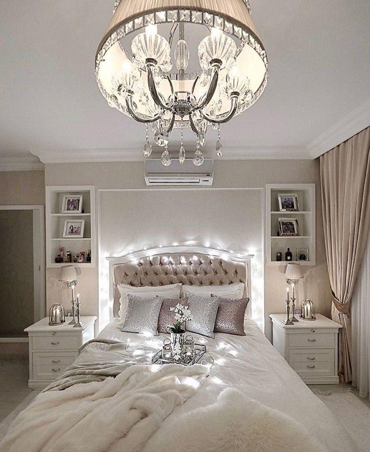 Pin By Mya On Yatak Odasi Dekorasyonu Fancy Bedroom Romantic Design Bedrooms For Couples
