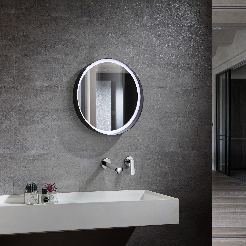 Spiegel Bou Rund Sklum In 2020 Badezimmerspiegel Badezimmerspiegel Beleuchtet Runde Badezimmerspiegel