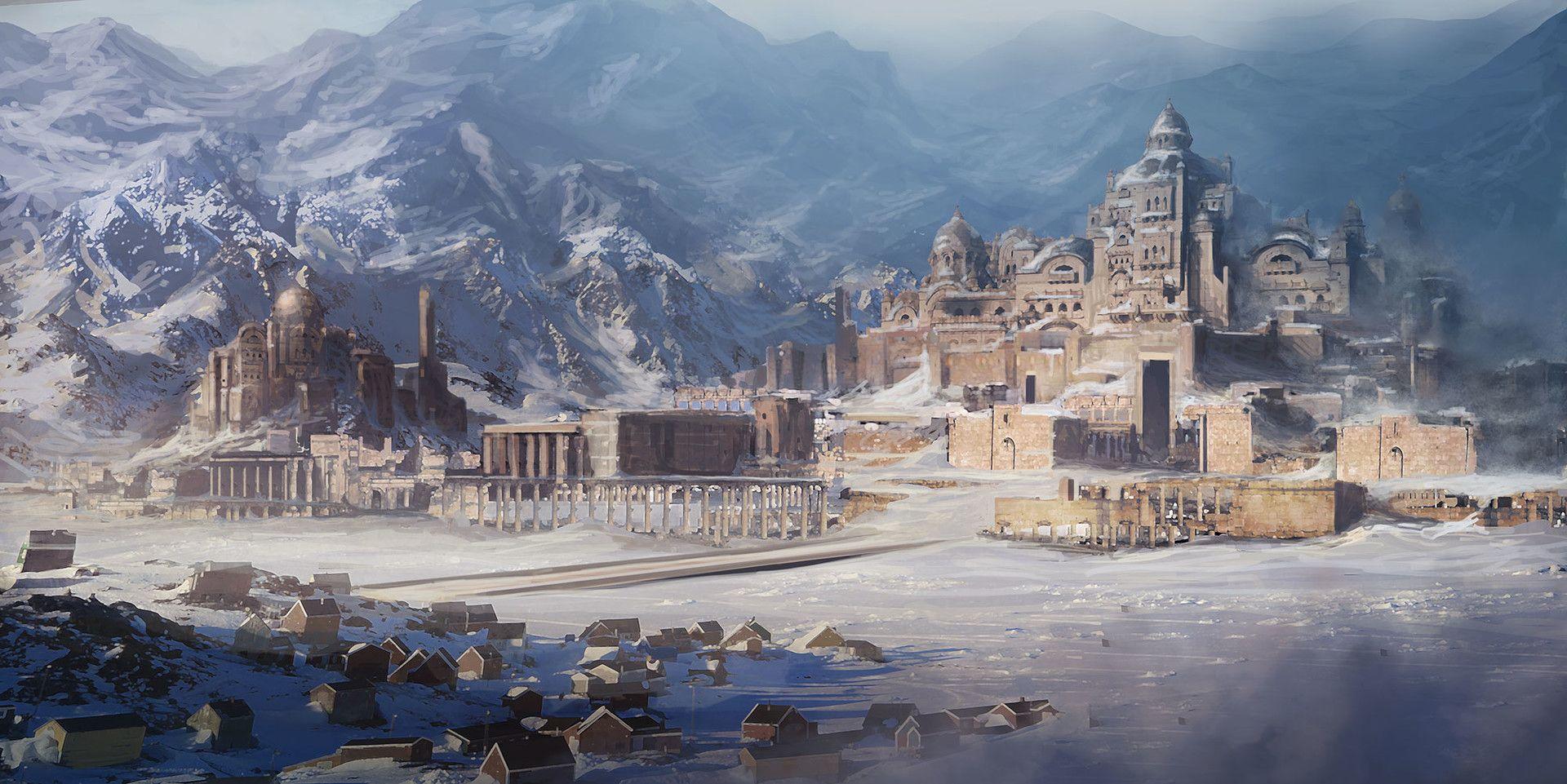 Artstation Ancient City David Edwards D Amp D Setting