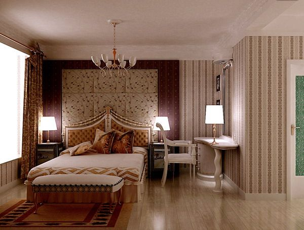 D Model Of Classic BedroomDownload D ModelCrazy Ds Max Free - Free bedroom decorating ideas