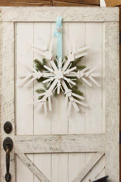 How To Make A Snowflake Christmas Snowflakes Crafts Christmas Decor Diy Christmas Diy