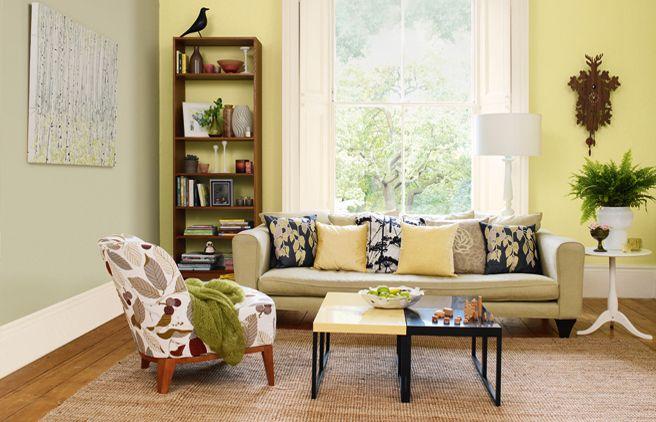 Gorgeous Colour Dulux Fresh Stem Yellow Living Room Colors Living Room Color Schemes Living Room Color
