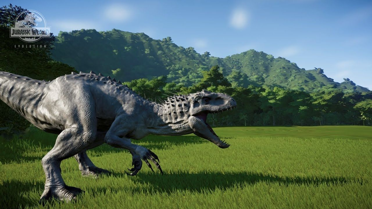Jurassic World Evolution Indominus Rex All Animations
