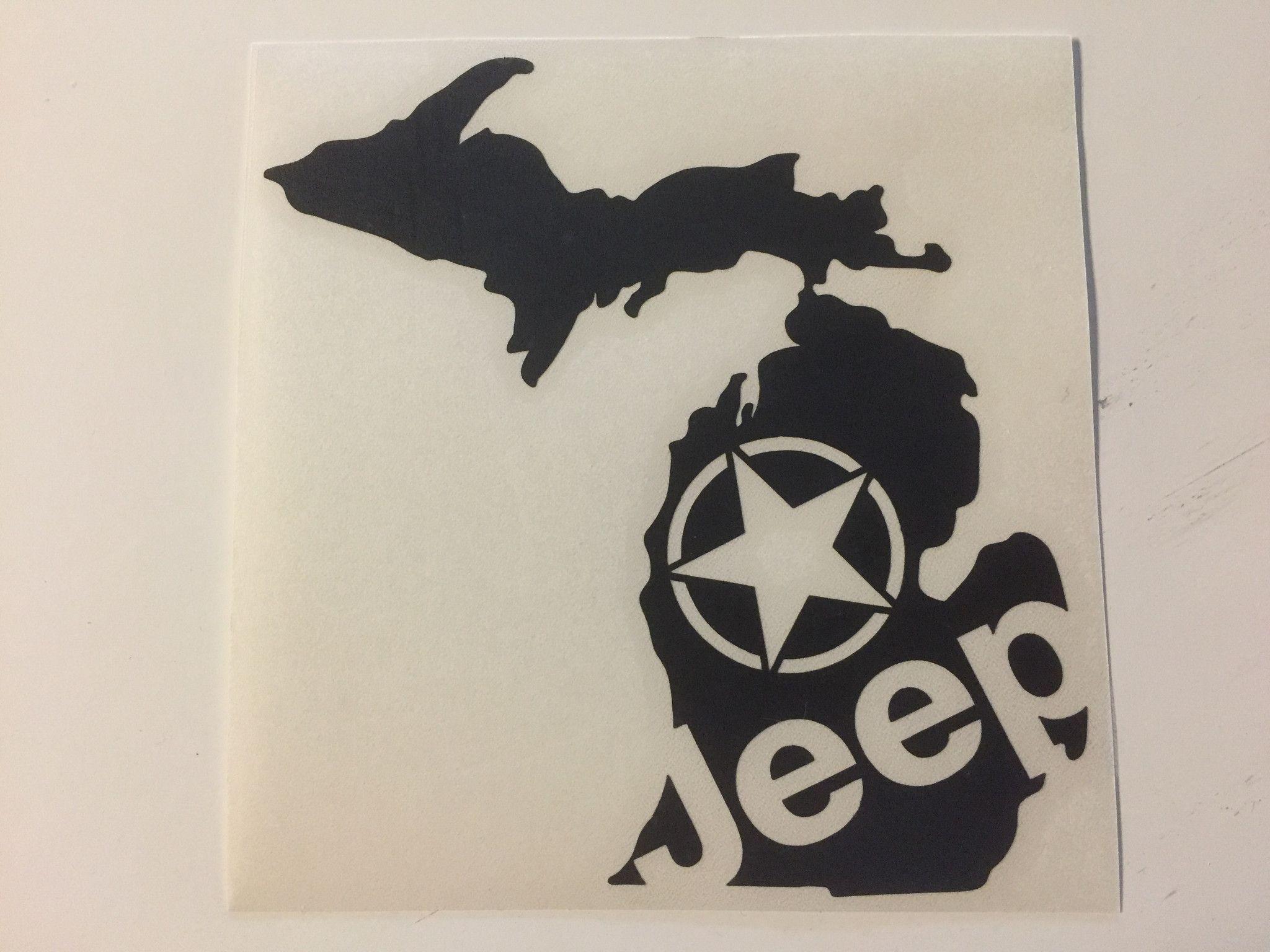 Cities Of Michigan Vinyl Car Decal Sticker Free Shipping Car Decals Michigan Decal Car Decals Vinyl [ 1460 x 1500 Pixel ]