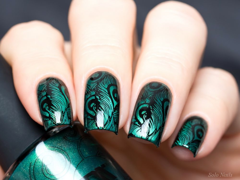 Tropical-20 | Nail Art | Pinterest | Nail stamping, Magnetic nails ...