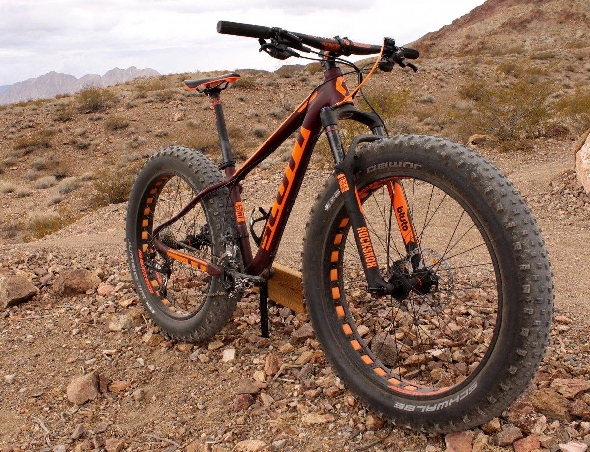 Test Ride Review 2016 Scott Big Ed Fat Bike Mtb Review Scott