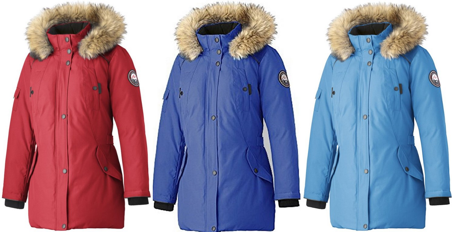 Alpinetek womenus midlength down parka sold by amazon