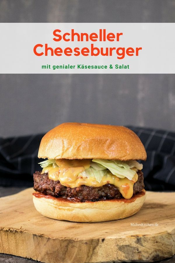 Photo of Fast beef burger with awesome cheese sauce {from Meateor Helios}