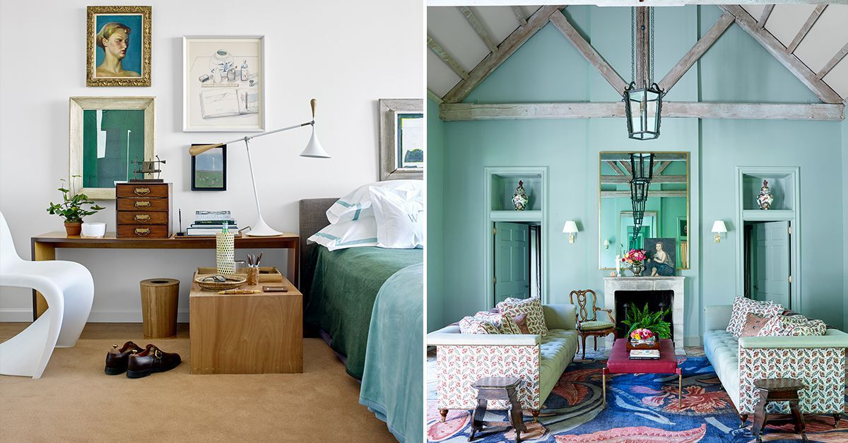 20 beautiful mint green rooms for spring- the best colors to pair images