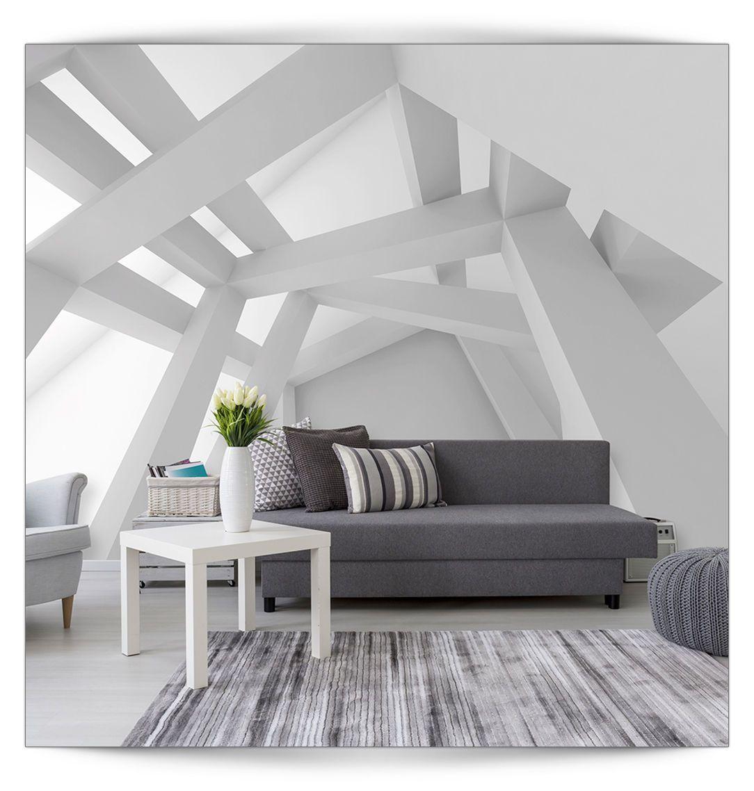 Tapeten Für Schlafzimmer Mit Dachschräge: Tapeten Für Schlafzimmer Mit Schräge