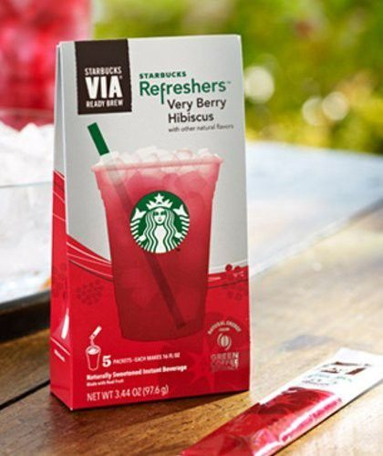 Starbucks Via Refresherstm Very Berry Hibiscus 3 Packboxes 15