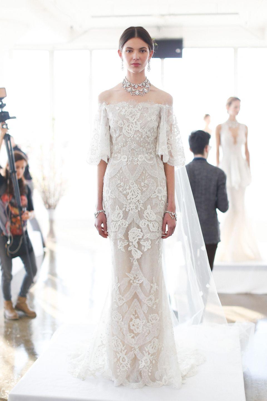 Marchesa Fall 2018 Wedding Dress Collection Marchesa Bridal Wedding Dresses Wedding Dress Inspiration