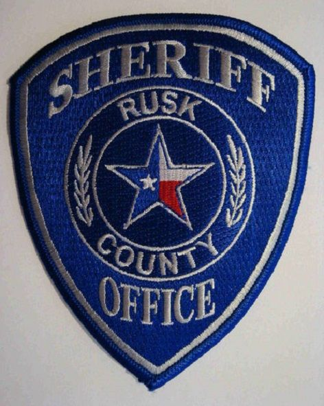 Rusk County Sheriff Tx 2 Police Patches Army Patches Fire Badge
