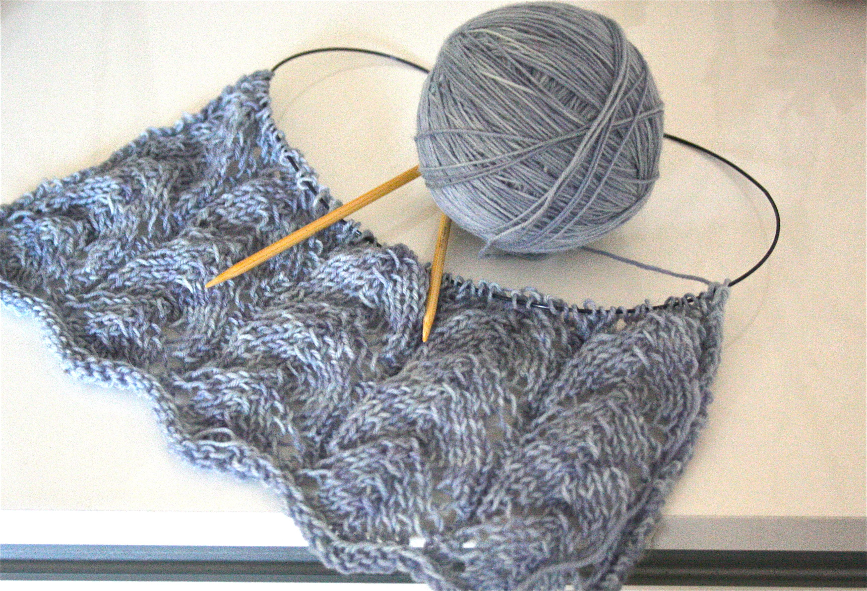 Magnificent Dk Kutte Strickmuster Picture Collection - Decke ...