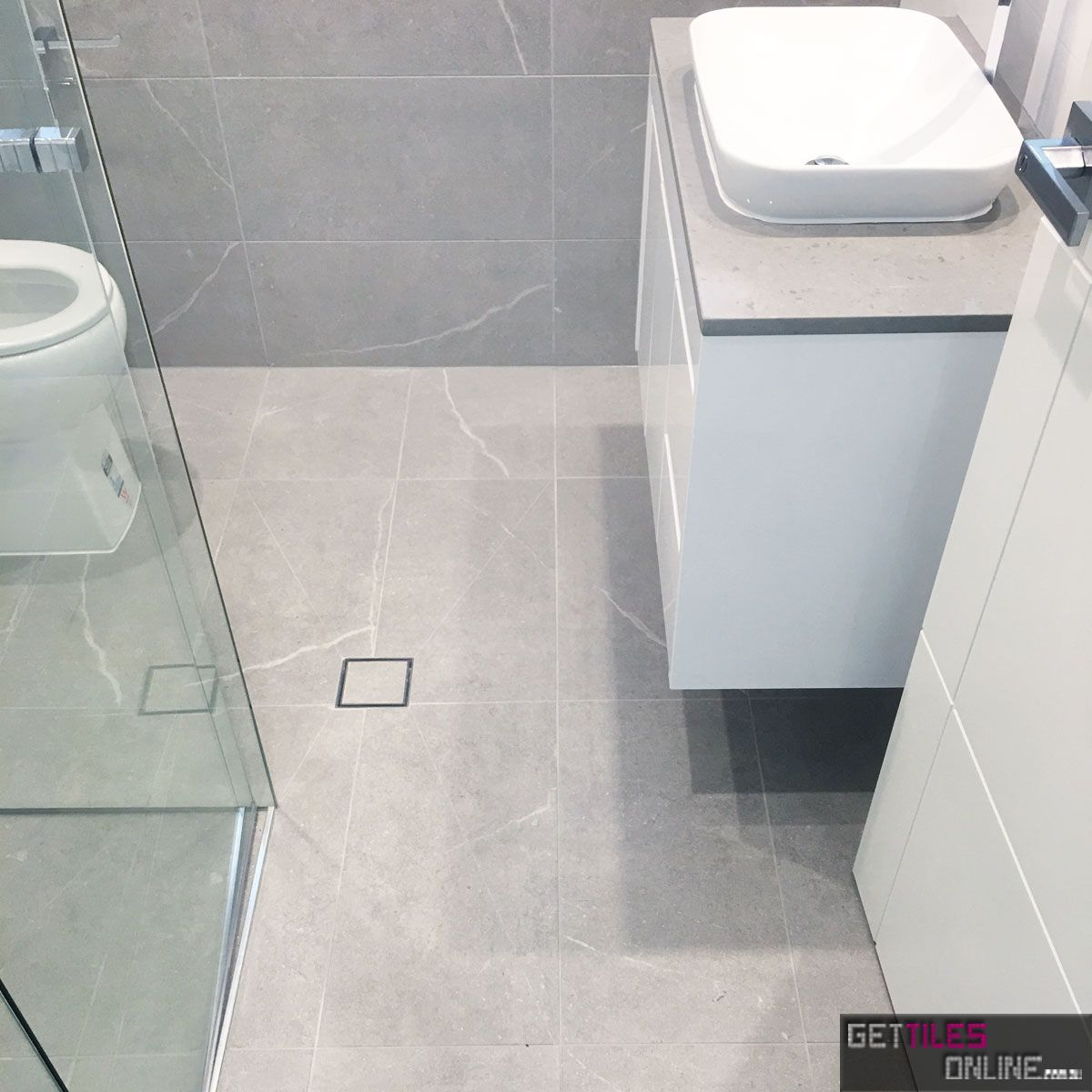 Cheap Natural Stone Look Pietra Stone Tile Grey| Get Tiles Online ...