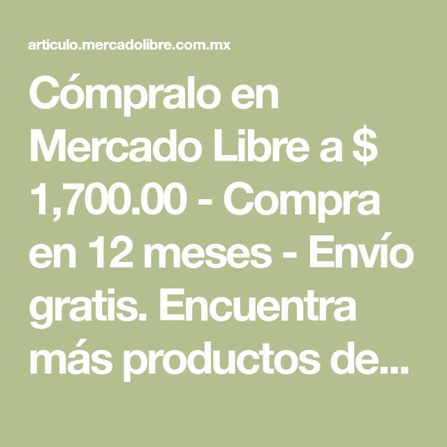 f2f869a346709 Cómpralo en Mercado Libre a   1