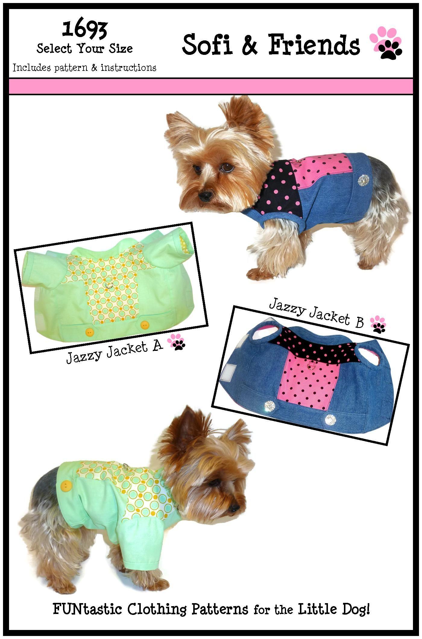 Jazzy Dog Jacket Sewing Pattern 1693 Leather Dog Jackets Etsy Jacket Pattern Sewing Dog Jacket Patterns Sewing Patterns [ 2120 x 1400 Pixel ]