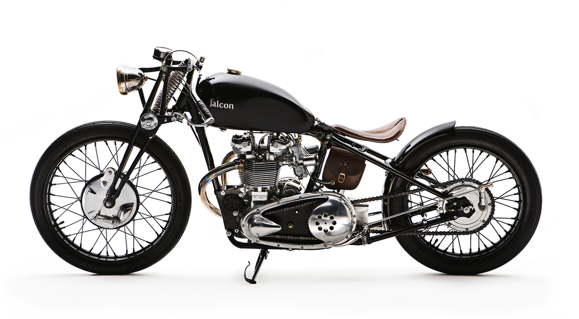 Falcon Bullet - Pipeburn - Purveyors of Classic Motorcycles, Cafe Racers & Custom motorbikes